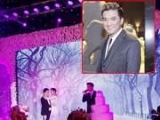 Hậu trường - Mr Đàm hát chúc mừng trong đám cưới Lam Trường