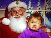 Lễ hội - Khi trẻ con... sợ ông già Noel