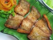 Bếp Eva - Cá lóc muối sả chiên giòn lạ miệng