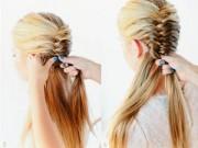 """Tóc đẹp - 5 kiểu tóc """"cứu"""" cô nàng lười gội đầu"""