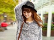 Thời trang - Tư vấn thời trang: Béo mặc áo len xù thế nào?
