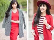 Mặc đẹp mỗi ngày - 4 cách để mọi cô gái đều quyến rũ với gam đỏ