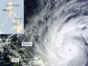 Tin quốc tế - Bão Hagupit sắp đổ bộ Philippines, hàng nghìn người sơ tán