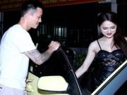 Làng sao - Hương Giang Idol được bạn trai Việt kiều tháp tùng