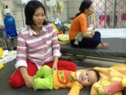 Tin tức - Số trẻ nhập viện do tiêu chảy, hô hấp tăng vọt