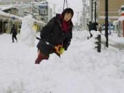 Tin tức - Nhật Bản: Bão tuyết bất ngờ, 8 người thiệt mạng