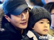 Làng sao - Cận mặt con trai cưng của nam tài tử Kwon Sang Woo