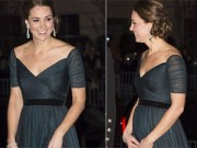 Bà bầu - Lộ bụng bầu, công nương Kate vẫn vô cùng quyến rũ