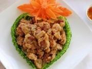 Bếp Eva - Tim, mề gà chiên giòn cho ngày lạnh