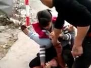 Eva Yêu - Clip đánh ghen trước chùa Tứ Kỳ ở Hà Nội