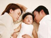 Làm mẹ - Lợi ích chỉ những em bé ngủ chung với bố mẹ mới có