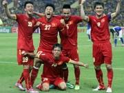 Làng sao - Ca khúc tiếp lửa cho tuyển Việt Nam gây sốt