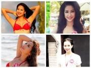 Làng sao - 4 kỳ tích tăng, giảm cân của thí sinh Hoa hậu VN