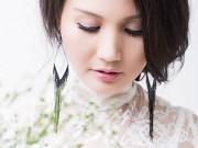 Làng sao - Hoa hậu Sương Đặng hồi xuân bên hoa đồng nội