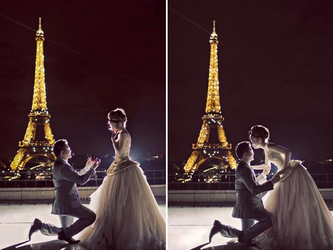 Lời cầu hôn trong đêm