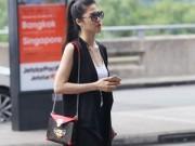 Người mẫu - Thu Hằng sang chảnh với  túi xách 70 triệu mới nhất của LV