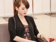 Mang thai 6-9 tháng - Bà chủ 9x bầu 7 tháng đẹp như hotgirl