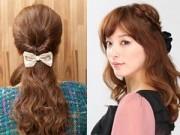 Tóc đẹp - 3 kiểu tóc đẹp dễ làm giúp bạn gái gây thương nhớ