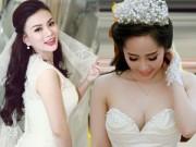 Thời trang - Top váy cưới sexy nhất của mỹ nhân Việt năm 2014