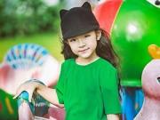"""Nuôi con - Vẻ đẹp mẫu nhí 7 tuổi được mệnh danh """"Tiểu Hồ Ngọc Hà"""""""
