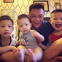 Chân dung 3 quý tử cực nhắng nhà BTV Quang Minh