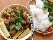 Bếp Eva - Thịt chân giò nấu giả cầy