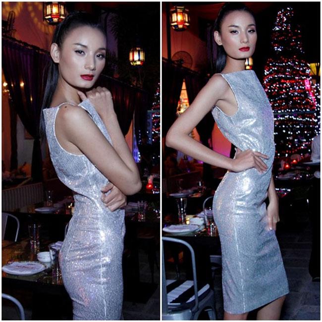 Lê Thị Thúy sở hữu thân hình vào hạng 'siêu mỏng' bậc nhất showbiz Việt.