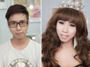 Làm đẹp - Tò mò xem trai đẹp hóa gái xinh không cần chuyển giới