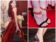 """Thời trang - Những đôi giày """"đắt xắt ra miếng"""" của Hồ Ngọc Hà"""
