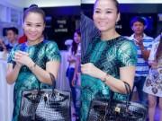 Thời trang - Thu Minh gây chú ý với túi Hermes 1,6 tỷ mới tậu