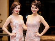 Làng sao - Chị em Mai Thu Huyền đọ vẻ xinh đẹp