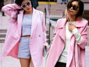 Thời trang - Áo khoác màu hồng khiến nữ công sở trẻ ra chục tuổi