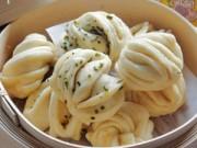 Bếp Eva - Bánh bao hành thơm ngon cho bữa sáng