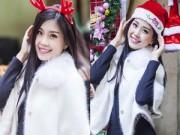 Làng sao - Á hậu Diễm Trang đón Noel giữa trời đông Hà Nội