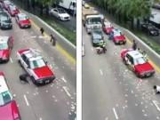 Tin tức - Clip đổ xe chở tiền, dân hỗn loạn 'hôi của' ở Hong Kong