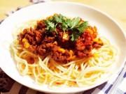 Bếp nhà tôi  - Mì Ý bò sốt cà đổi vị cuối tuần