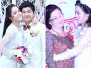 Làng sao - Nhật Kim Anh ôm mẹ chồng thắm thiết trong đám cưới