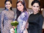 Thời trang - Mẹ chồng Tăng Thanh Hà đầy đặn và quyến rũ với áo dài