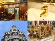"""Nhà đẹp - Đo độ """"khủng"""" của những biệt thự được dát vàng ở Hà Nội"""