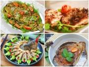 Bếp Eva - 4 món cá hấp dẫn chiều cuối tuần