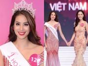 Thời trang - Tân HH Phạm Hương xin lỗi vì buông tay Á hậu 1 lúc đăng quang