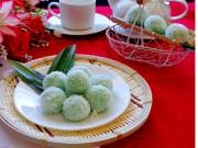 Bếp Eva - Bánh nếp lá dứa nhân dừa đầy hấp dẫn
