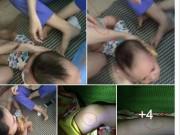 Tin tức - Phẫn nộ bé trai bị 3 cô giáo trói chân, nhét giẻ vào miệng