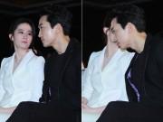 Lưu Diệc Phi tươi rói tám chuyện với Song Seung Hun