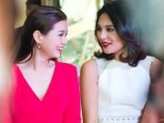 Làng sao - HH Hương Giang hết lời khen ngợi Á hậu Diễm Trang