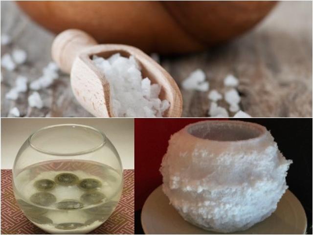 Mẹo dùng muối hóa giải năng lượng xấu trong phong thủy