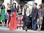 Thời trang - Street style Việt rộn ràng Paris Fashion Week Xuân Hè 2016