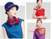 20 kiểu thắt khăn vừa sang vừa điệu cho nữ công sở