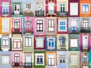 Nhà đẹp - Hoa mắt ngắm cửa sổ cầu vồng khắp thế gian