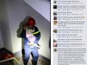 Tin tức - Gặp lính cứu hỏa trong bức ảnh ôm bé gái gây xúc động
